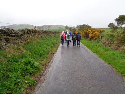 Wet Start on the Sidlaw Hill Walk