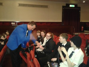 Scottish Children's Book Award Caird Hall 2012 (2)