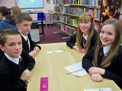Literacy Quiz Team 2013