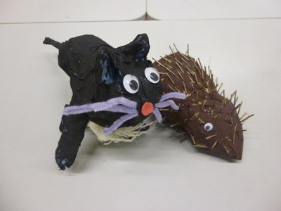 ASN 3/4 animal sculptures