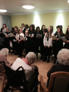 Choir at Clement Park Care Home