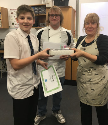 Future Chef 2017 2nd Place Keir