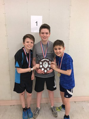 Dundee Active Schools Schools S1 - S3 Table Tennis competition