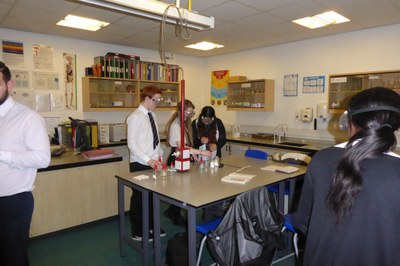 S3 Chemistry Group Practical Work 2