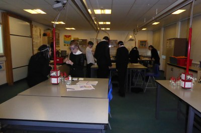 S3 Chemistry Group Practical Work 9