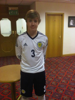 Kieran Freeman - Scotland Kit