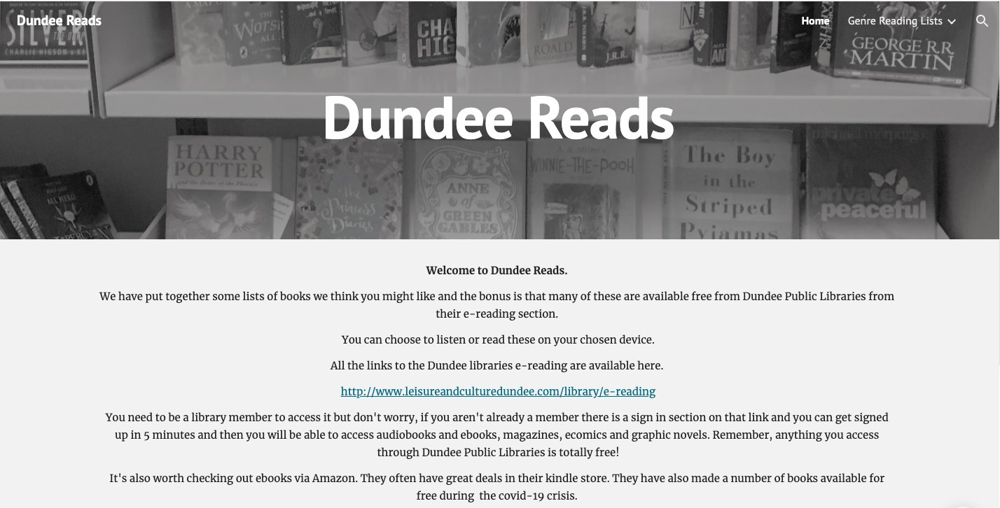 Dundee Reads