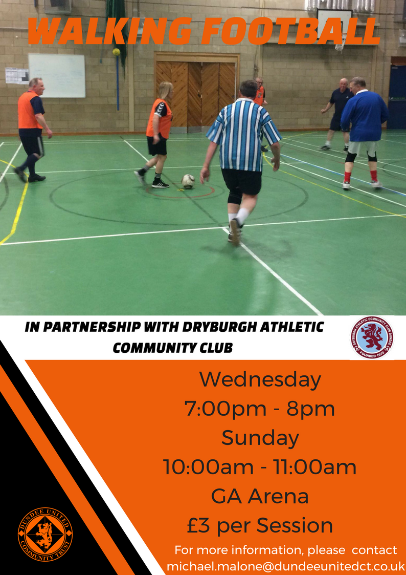 Dundee United Community Trust Weekly Sessions